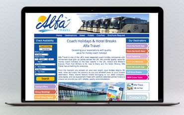 Alfa Travel store front