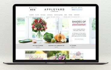 Appleyard Flowers store front