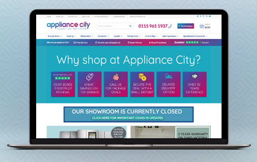 Appliance City store front