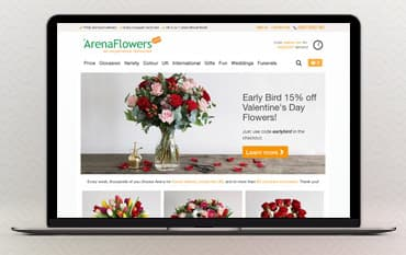 Arena Flowers store front
