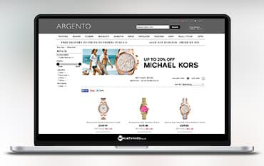 Argento store front