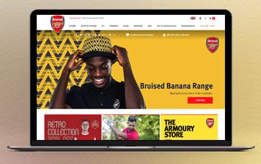 Arsenal Direct store front