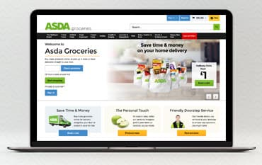 ASDA groceries store front