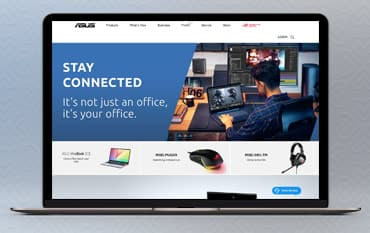 ASUS store front