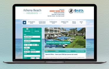 Athena Beach Holidays store front