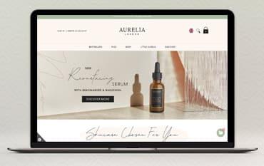 Aurelia London store front