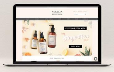 Aurelia Skincare store front