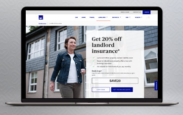 Axa Landlord Insurance store front