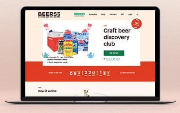 Beer52 store front