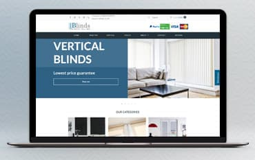 Blinds Direct Online store front