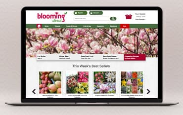Blooming Direct store front