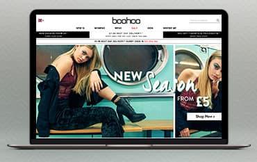 boohoo.com store front