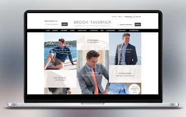 Brook Taverner store front