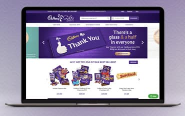 Cadbury Gifts Direct store front