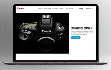 Canon store front