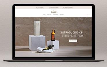 CBII CBD Oil store front