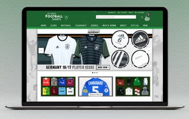 Classic Football Shirts store front