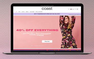 Coast store front