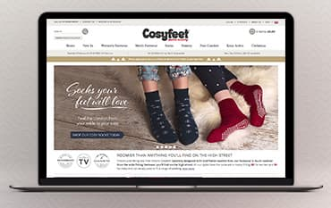 Cosyfeet store front