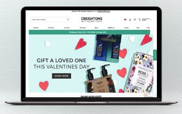 Creightons store front