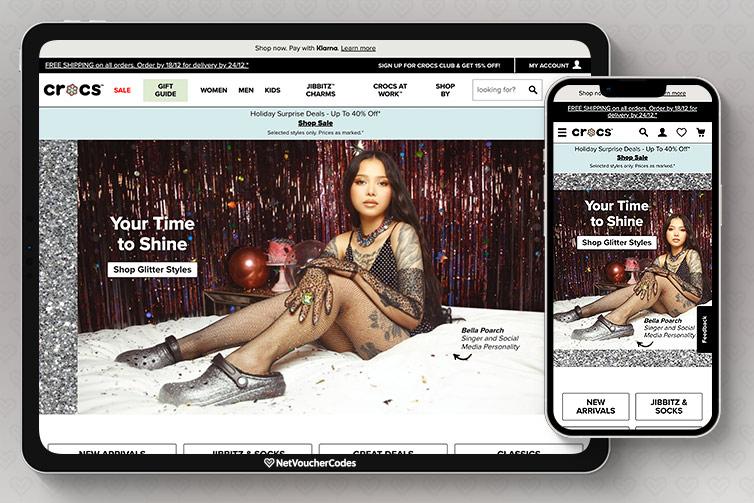 Crocs store front