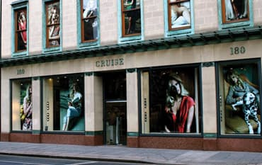 CRUISE store front