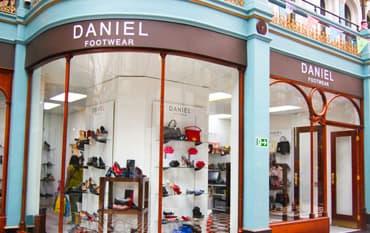 Daniel Footwear store front