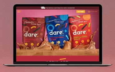 Dare Motivation store front