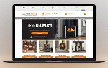 Direct Stoves store front
