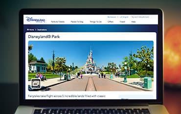 Disneyland Paris  store front