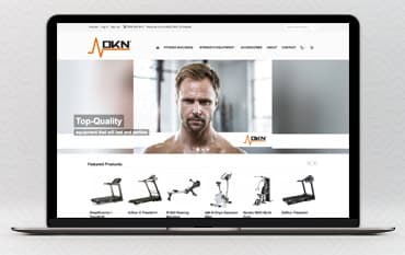 DKN Fitness UK store front