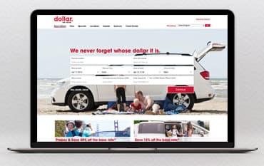 Dollar Car Rental store front