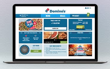 Dominos store front