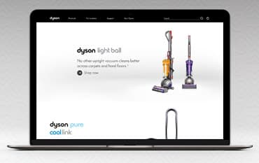 Dyson store front
