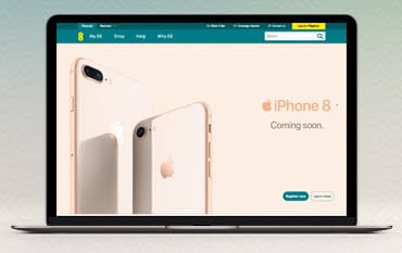 EE Mobile store front