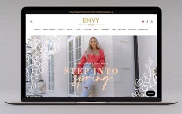 Envy Shoes store front