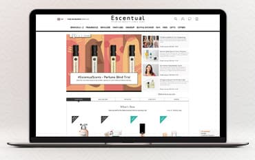 Escentual store front