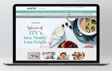 Exante Diet store front
