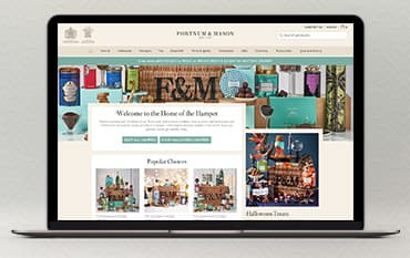 Fortnum and Mason store front