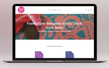 FunkyGym store front