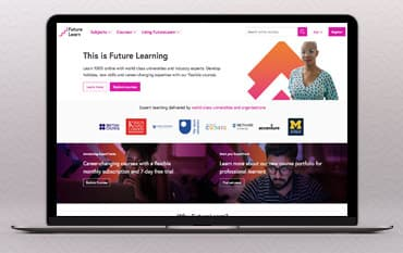 FutureLearn store front
