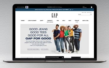 GAP store front