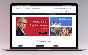 Glasses Direct store front