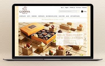 Godiva Chocolates store front