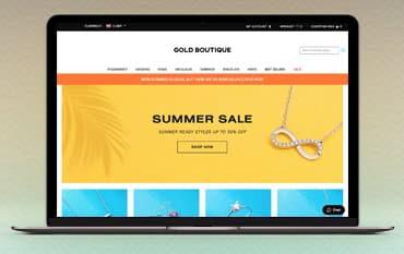 Gold Boutique store front