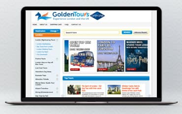 Golden Tours store front