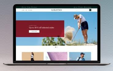 Golfino store front