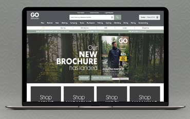 Go Outdoors store front