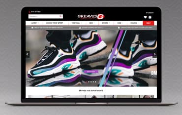 Greaves Sports store front