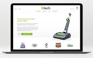 Gtech store front